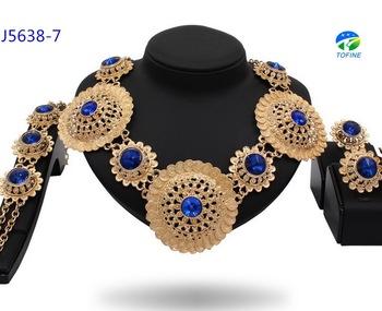 New arrival fashion pendant necklace stud earring jewelry set gold new arrival fashion pendant necklace stud earring jewelry set gold plating big jewelry set mozeypictures Choice Image