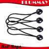 "9"" BLACK BALL BUNGEE TIE DOWN CANOPY TARP STRETCH CORDS HOLDERS"