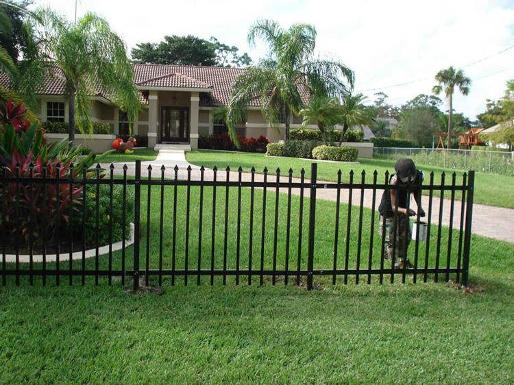 Wrought Iron Garden Wall Fence,Antique Wrought Iron Railing ...