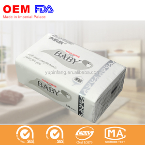 High ends quality custom printed facial tissue for distributor
