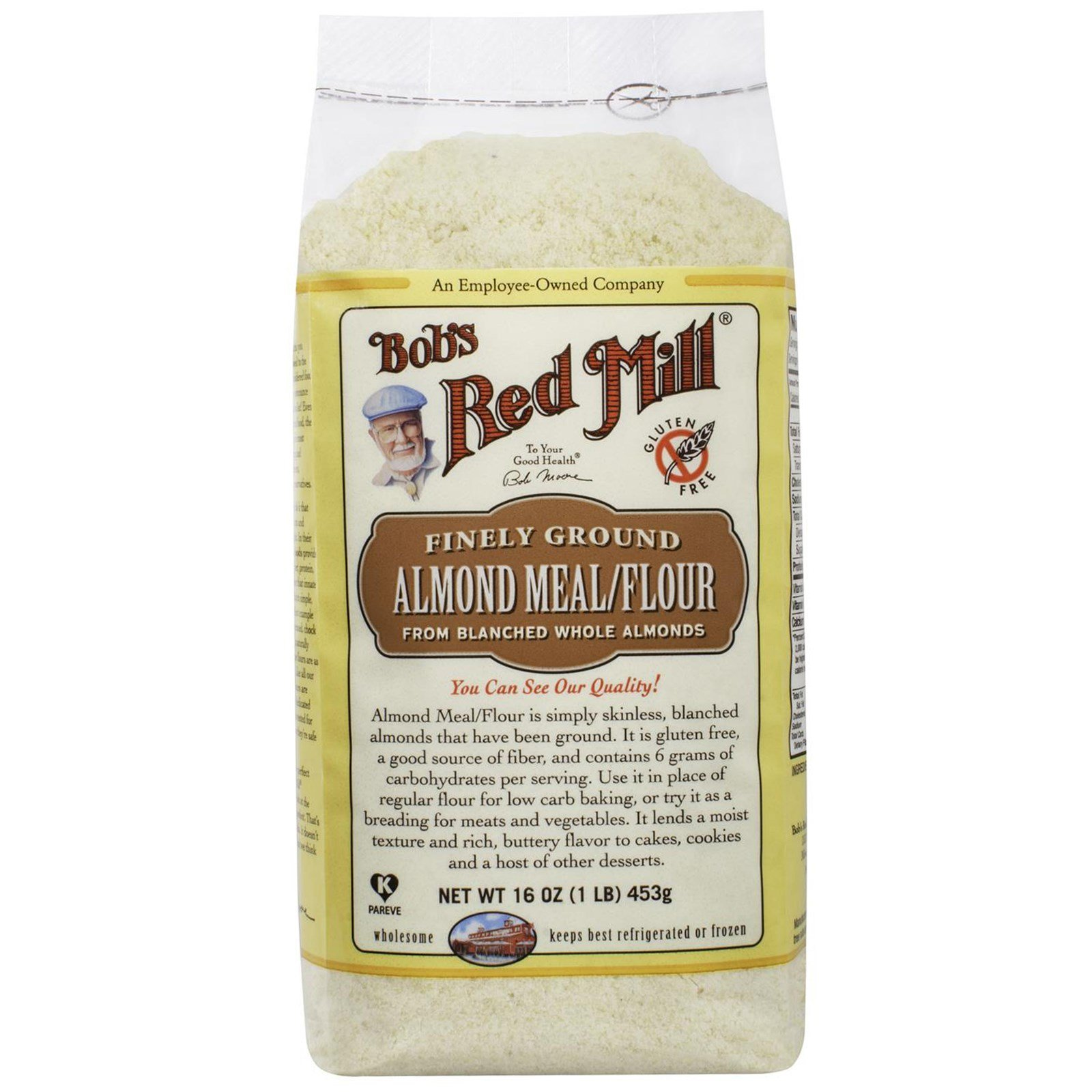 Bobs Red Mill Flour Gf Almond Meal