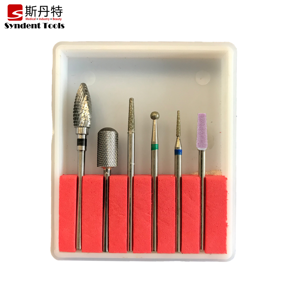 Professional drill bit acrylic cuticle electric manicure kit for daily work