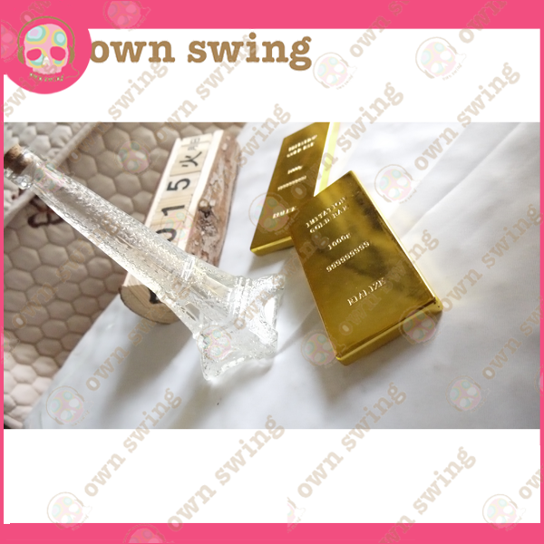simulation gold bars craft for bank display models jeweller activities copy plastic /metal gold bar gift