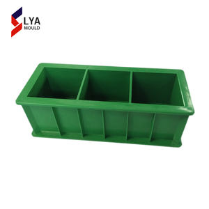 150mm plastic concrete test cube three gangs mould
