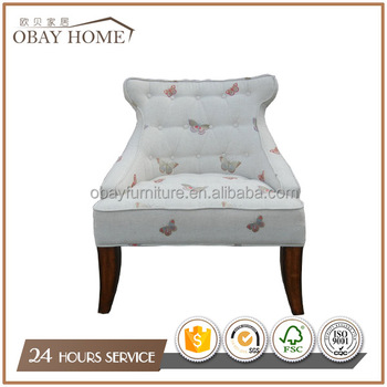 Traditional American Chairs For Living Room Butterfly Chairs For TV Room  Lounge