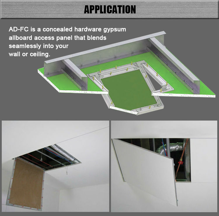 Canton Fair Free Pick Up With Gypsum Board Ceiling Aluminum Spring Loaded  Access Panel Lowes
