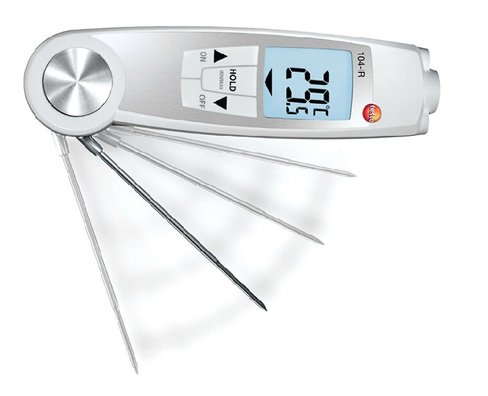 Testo 104-IR - Multi-purpose Infrared and Penetration Thermometer