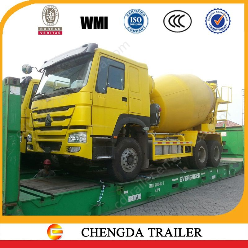 8 CMB 10 wheeler concrete and cement mixer truck for sale