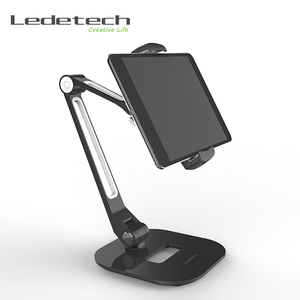 Universal Tablet PC Stand Mount flexible Aluminum Kitchen Desk Bed Tablet Holder Stand for ipad Samsung Tab