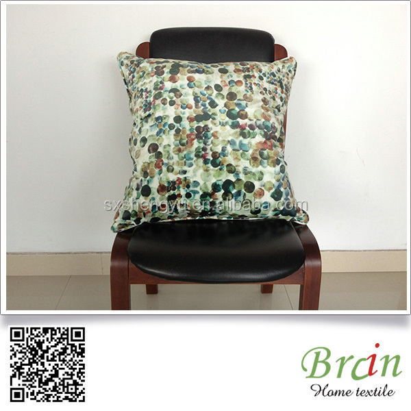 2016 HOT SALE Private Design Offered Print Velvet Cushion and Cushion Cover