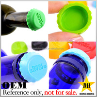 Cheap Reusable Sealing Custom Printed Silicone Beer Bottle Caps for Sale