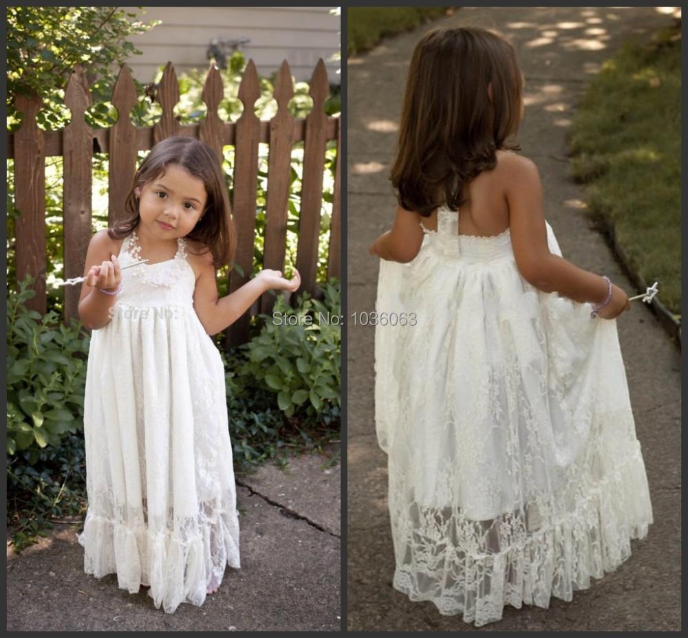 online buy wholesale flower girl dress for beach wedding from china flower girl dress for beach. Black Bedroom Furniture Sets. Home Design Ideas