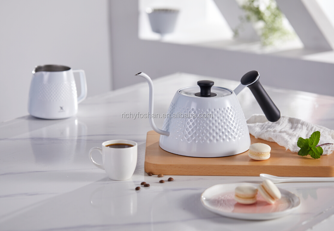 pour over drip kettle stovetop tea pot coffee pot