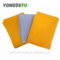 lint free super absorption germany shammy cloth polyester needle punched nonwoven fabric
