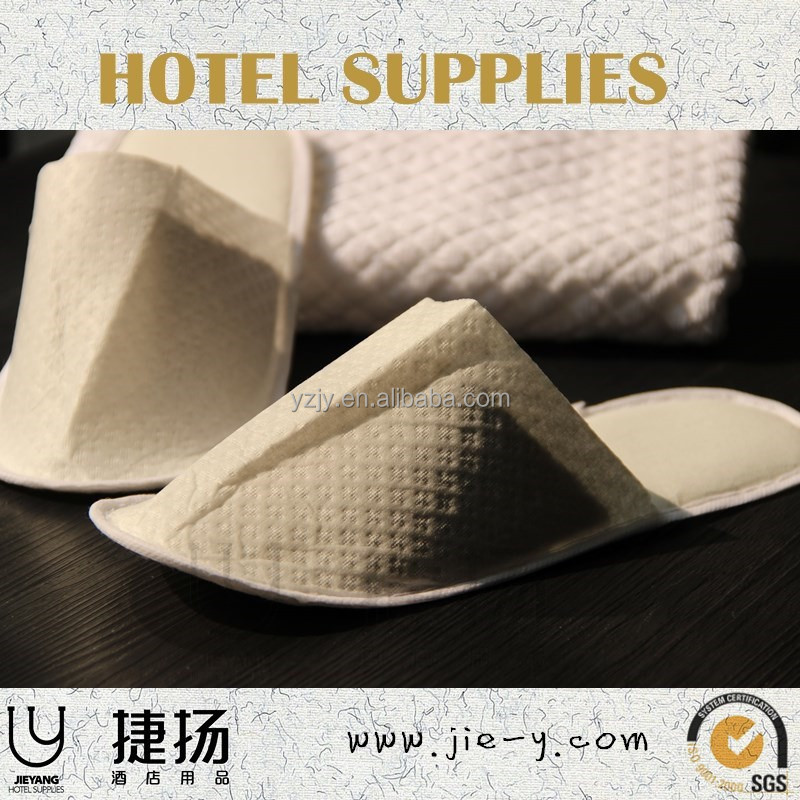 Personalized star hotel slipper supplie with paper slipper and hot arabic slippers