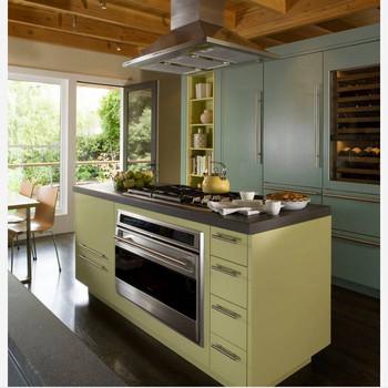 Etonnant Wooden Color Laminate Mdf Kitchen Cabinet Unit