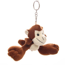 customized color welcomed toys plush hanging monkey for sale