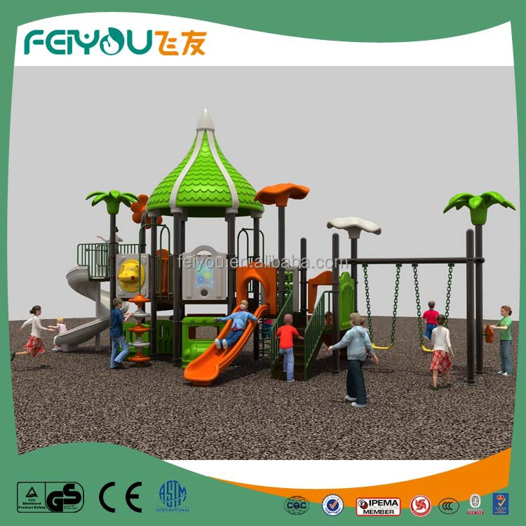 Plastic large children outdoor playground equipment buy for Large garden equipment