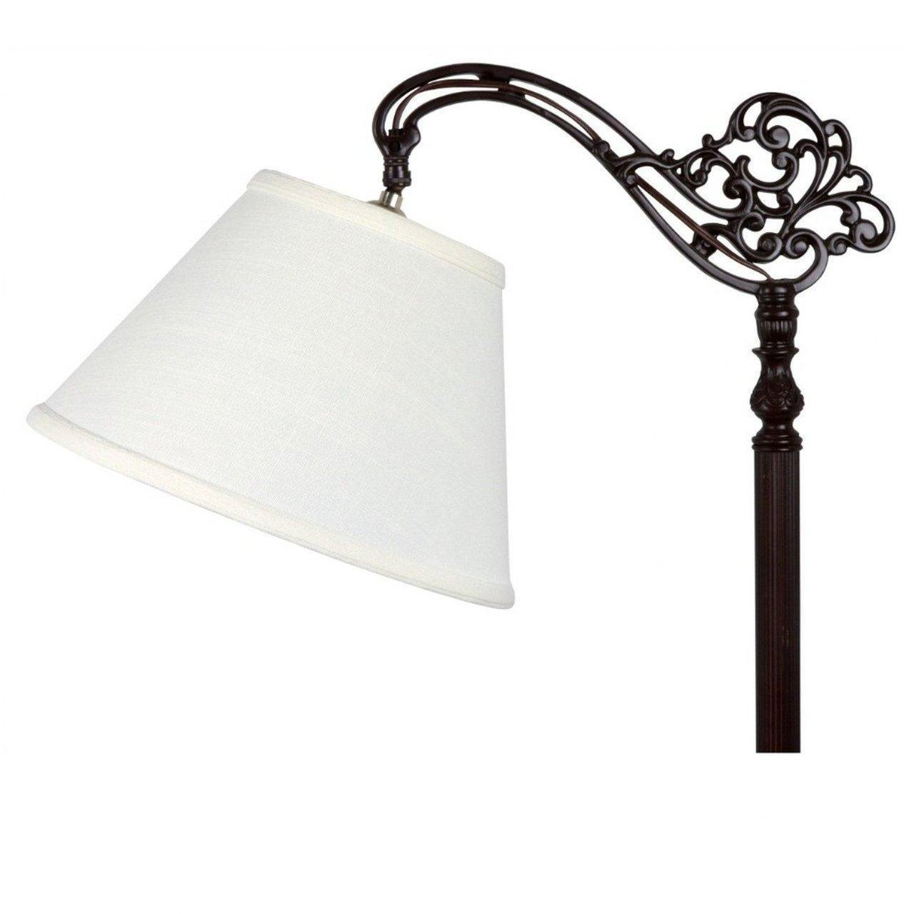 (USA Warehouse) UpgradeLights White Linen 8 Inch European Drum Lampshade with Uno Fitter -/PT# HF983-1754371394