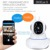 Wireless Security Camera 1080P HD IP Wifi Camera Home Surveillance Cameras Nanny Cam With Night Vision Two-Way Audio