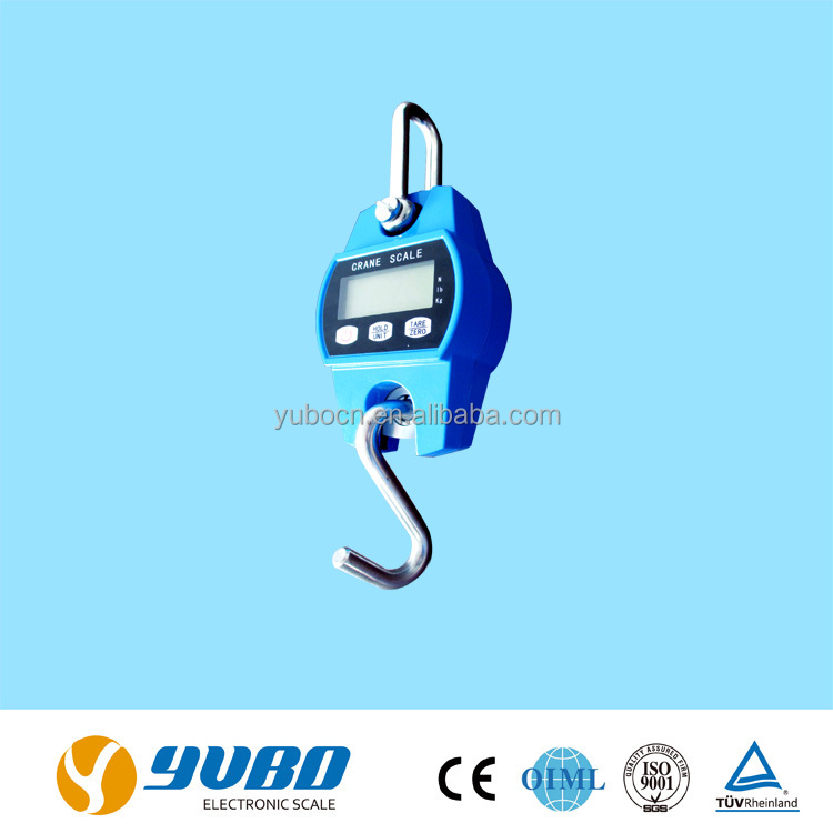 30kg 100kg crane scale digital weighing spring / ocs crane scale