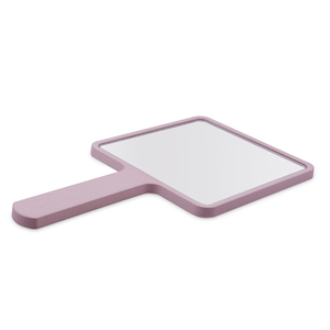 Square Handheld Salon Barbers Hairdressers Beauty Cosmetic Makeup Mirror