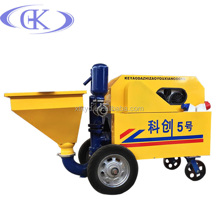 diesel mortar spray machine sand spraying machine Ke Yao Da mortar machine manufacturer