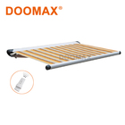 #DX350 Waterproof Canvas Rain Roller Shade Awning