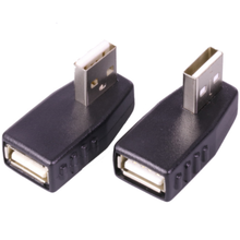 USB stecker 90 Grad Ellenbogen USB stecker adapter UHR bis AF konverter Notebook tablet computer drucker USB kabel adapter