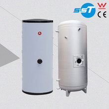 Double wall exchanger copper stainless steel electric water storage cylinders