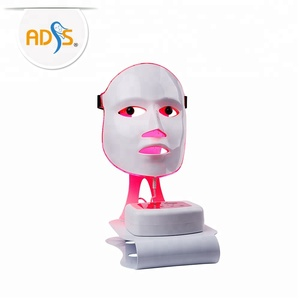 LED cold laser beauty facial mask