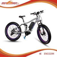 2017 electric bike high speed full suspension ebike electric bicycle