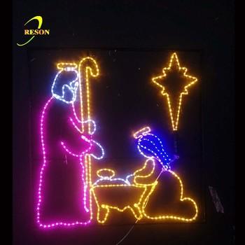 Jesus Christmas Pic.Jesus Nativity Scene Christmas Light Display Buy Christmas Lights Jesus Nativity Christmas Lights Christmas Light Display Product On Alibaba Com