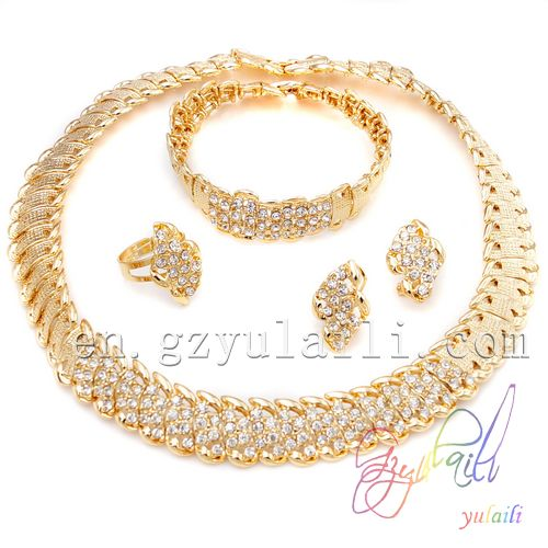 Jewelry Dulhan Sets Turkey 24k Gold Plated Jewellery Imitation
