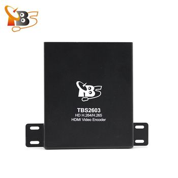 TBS2603 HDMI per IP H.265 H.264 hdmi encoder iptv in streaming encoder per IPTV o OTT in streaming Supporto RTSP/RTP /RTMP, HTTP, UDP