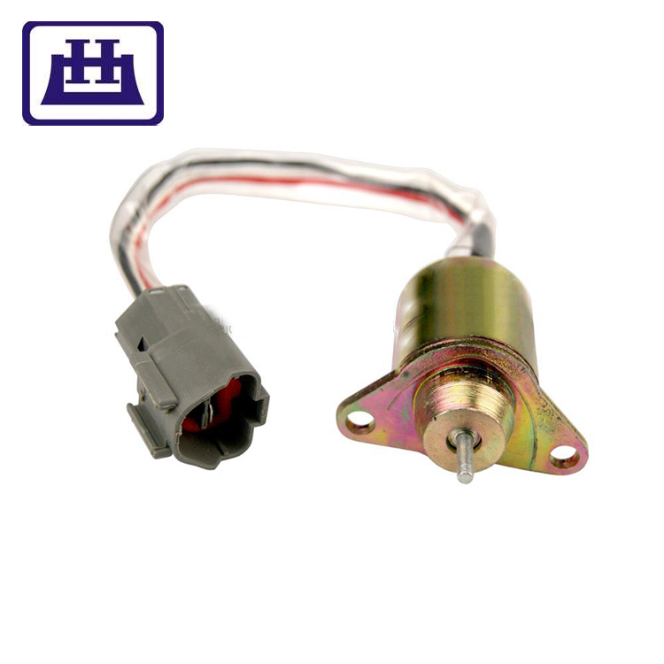 GZYF 12V Fuel Shutdown Shut Off Solenoid Valve for YANMAR JOHN DEERE TRACTOR Engine 1503ES-12S5SUC12S 119233-77932
