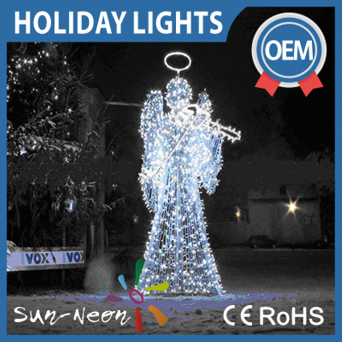 Lighted Outdoor Christmas Decorations Led