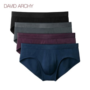 Wholesale David Archy Men Micro Modal Underwear Soft Comfy Boxer and Briefs 4 Pack