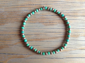 2015 hot new design seed bead bracelet DIY small beads bracelet