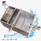 Automatic Commercial kitchen cooking Fat Grease oil water separator