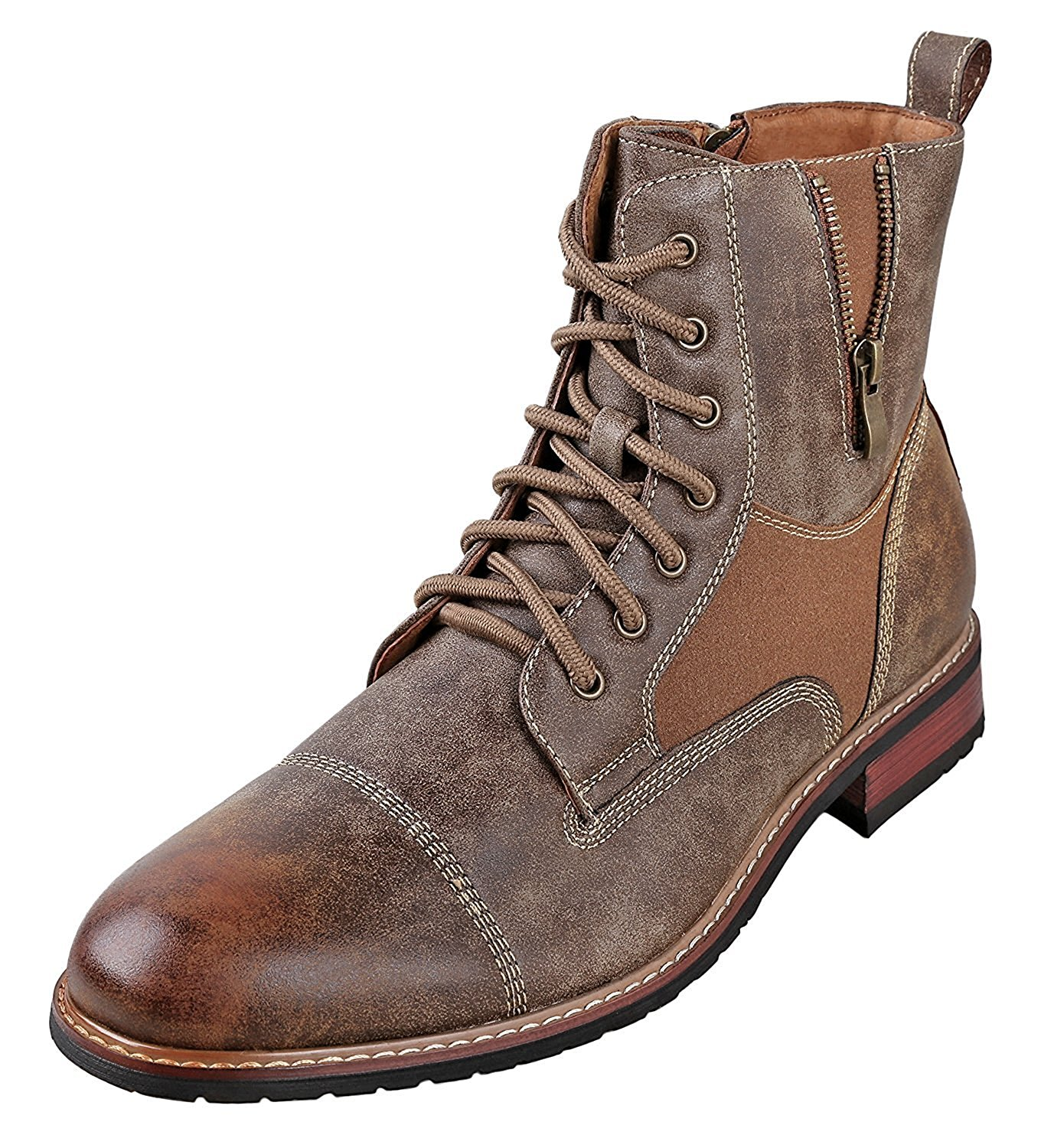 850a87cf5b Get Quotations · Ferro Aldo Andy Mens Ankle Boots | Combat | Lace Up |  Fashion | Casual