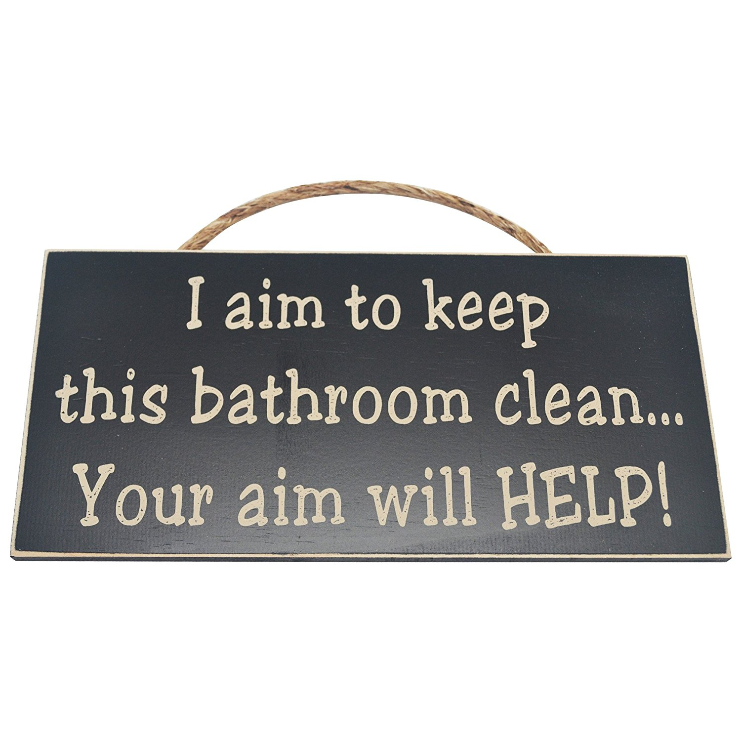 Buy I Aim To Keep This Bathroom Clean Your Aim Will Help