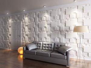 Papier Peint 3d Sur Le Mur 3d Plafond Panneau 3d Pvc Papier Peint ...