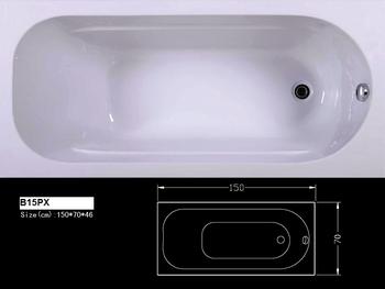 B pxhot vendita vasca da bagno porcellana cinese vasca da bagno