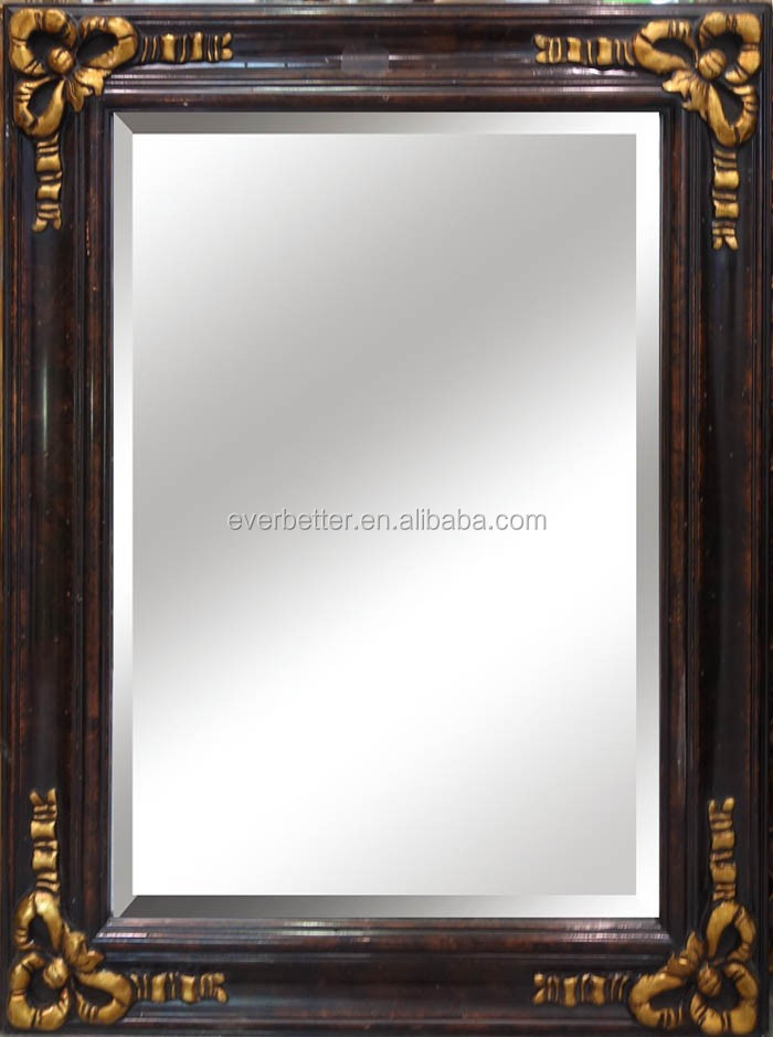 Antique Wooden Picture Frame Mirror Frames Full Length Wall Mirror ...