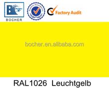 Ral 9016 Oder 9010 hangzhou bocher building material co ltd powder coating