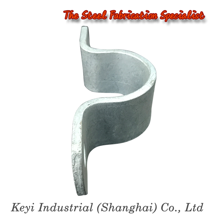 Hot Dipped Galvanized Steel Pipe Saddle Clamp