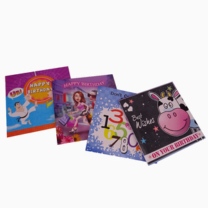 Artificial video greeting cards with good quality made in china