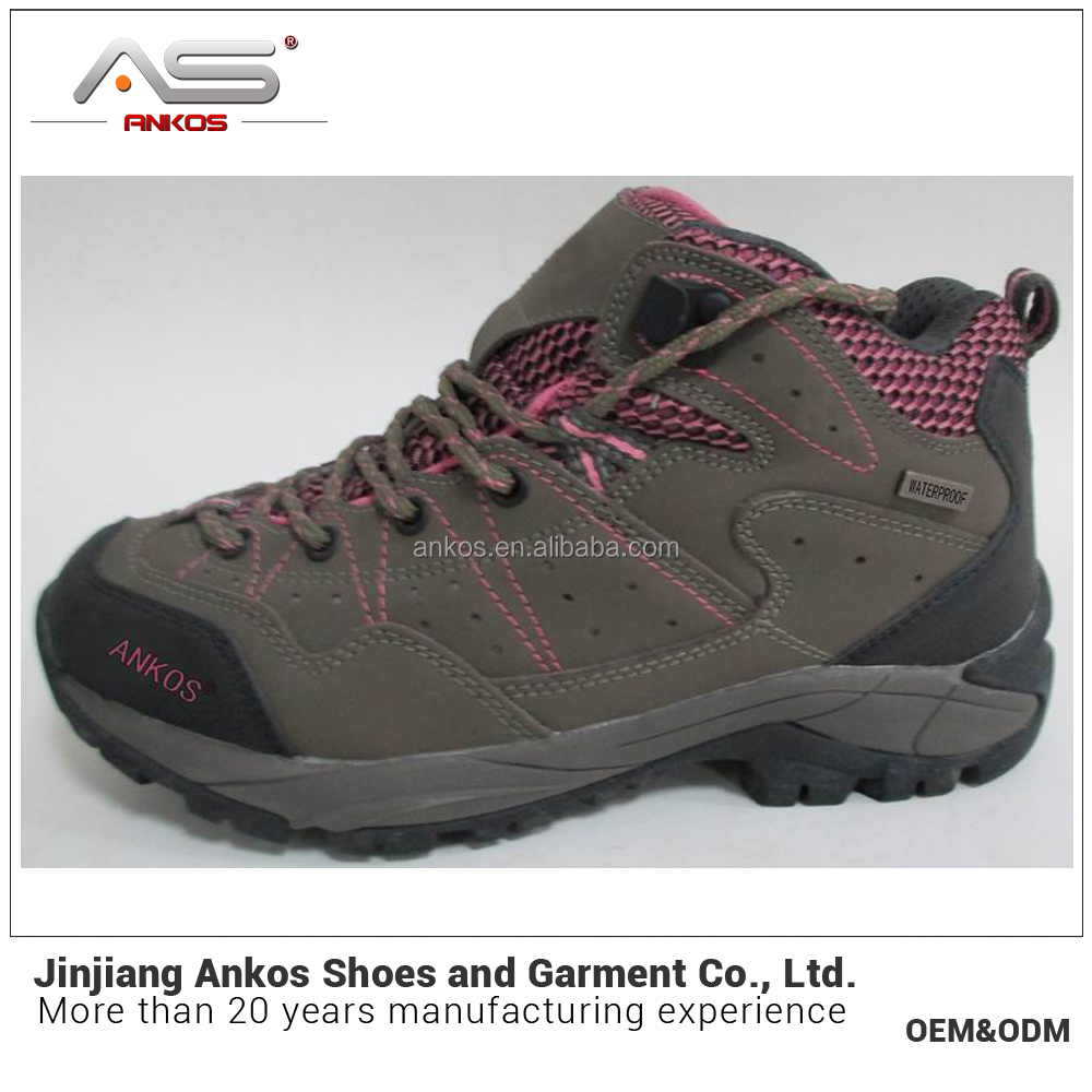 2017 New style High Quality women hiking boots camping footwear outdoor trekking footwear hiking footwear Size 36-40