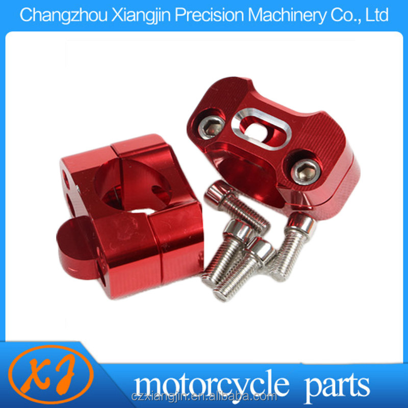 cnc aluminum kit motorcycle handle bar riser Chinese manufacturer